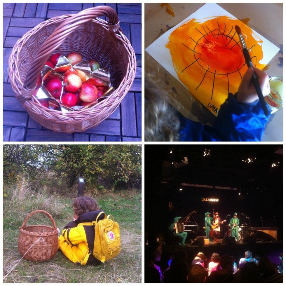 Vintertid, børnejazz og æblerov