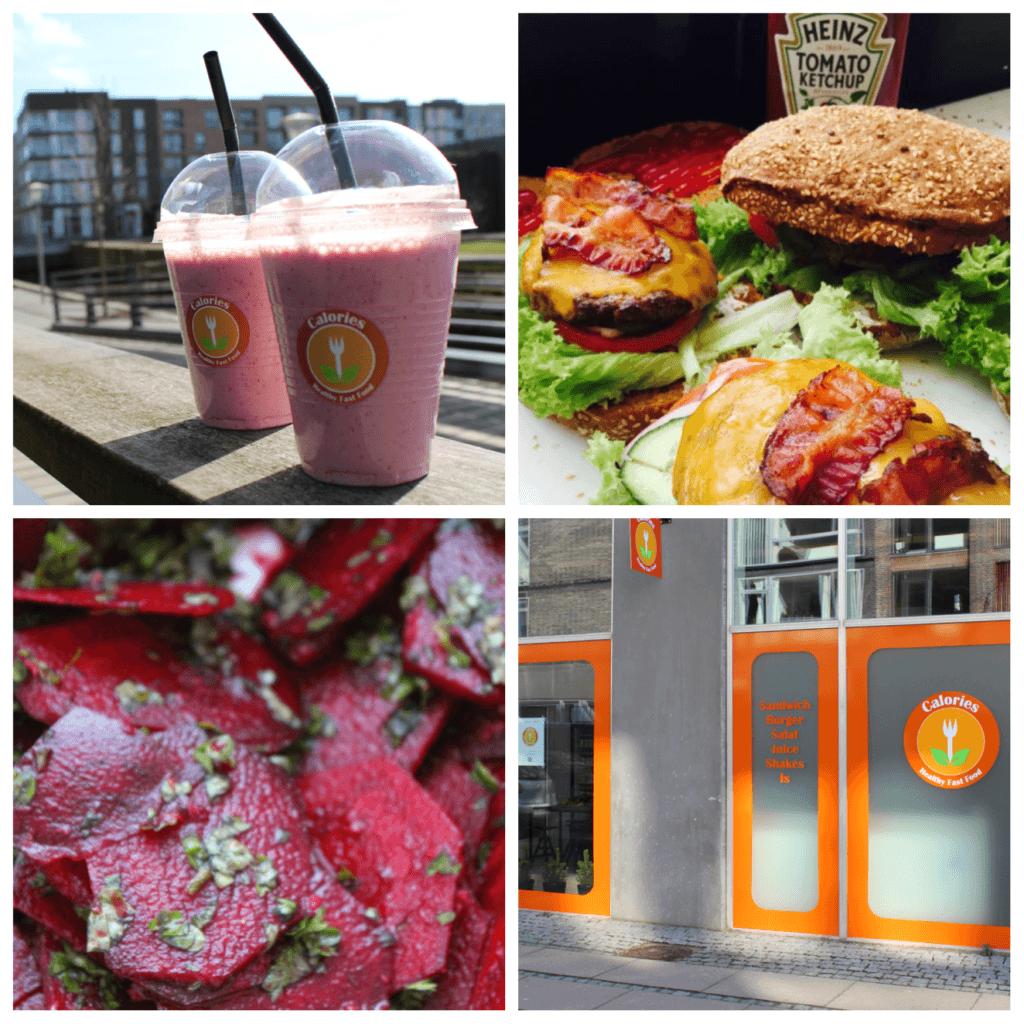 3. advent-konkurrence: Vind burgere og shakes fra Calories - Healthy Fastfood inkl. levering (værdi 800 kroner)!