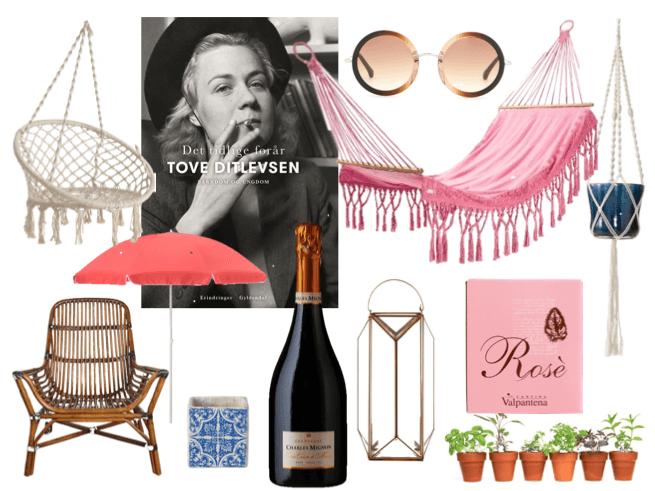 Maj måneds ønsker - rosé, rosé, rosé og udendørsliv