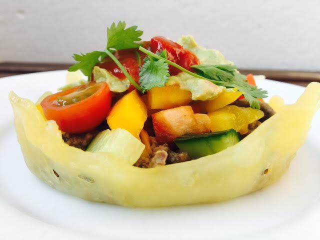 LCHF: Ostekurv til tacos