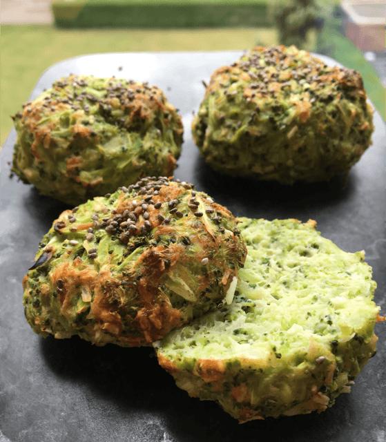 Grønne proteinboller uden mel. Kun 60 kcal. pr. bolle
