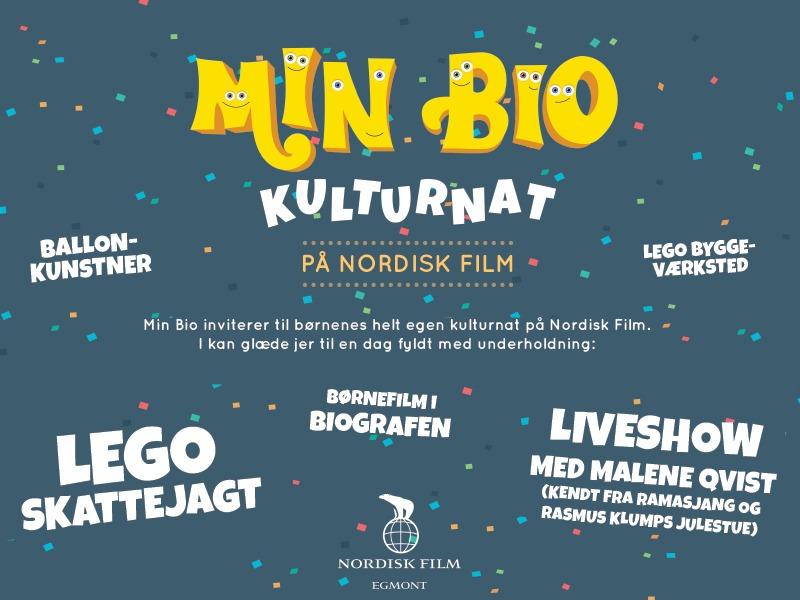 Det COOLESTE event for børn (og voksne) fyres gratis af i morgen på Nordisk Film!