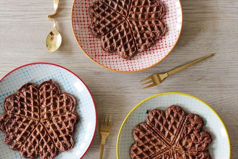 Sprøde chokoladevafler (gluten, laktose - og sukkerfri) - Sydhavnsmor.dk