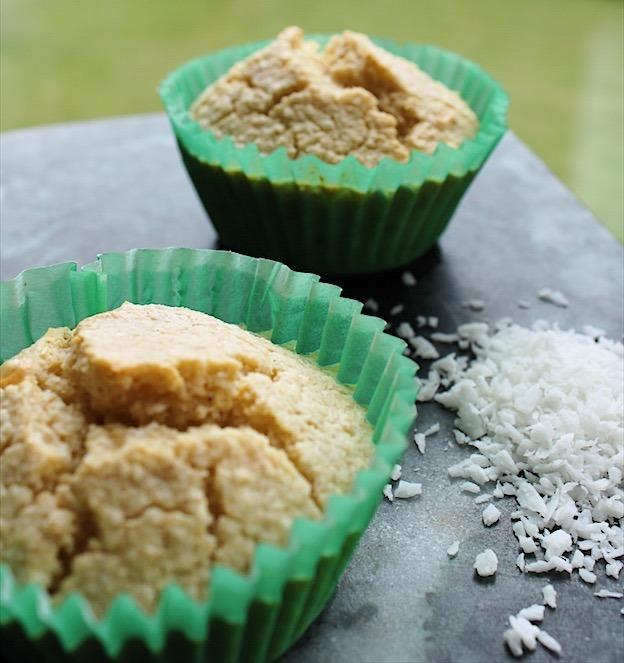 Sunde kokosmuffins af 6 ingredienser, uden mel og sukker - Sydhavnsmor.dk