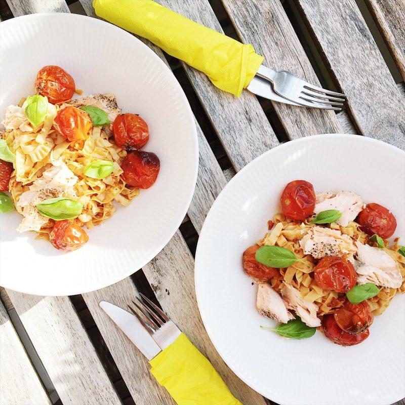 Nem low-carb pasta ret (glutenfri) - Sydhavnsmor.dk