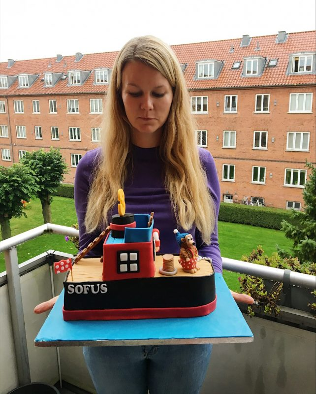 Kagen jeg fik lavet til Sofus 3 års fødselsdag - Sydhavnsmor.dk