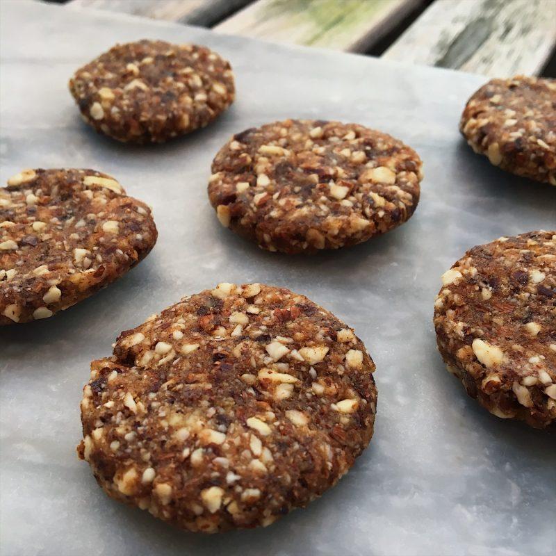 Sund jul: Raw brunkager af 3 ingredienser (gluten- og sukkerfri, vegansk)