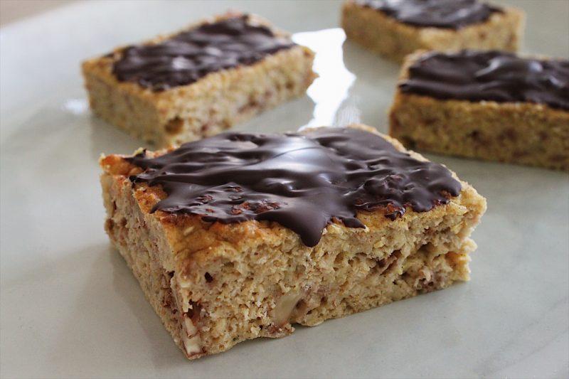 Slanke squashkage med chokolade (mel-og sukkerfri)