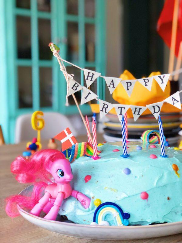 Nem My Little Pony fødselsdagskage