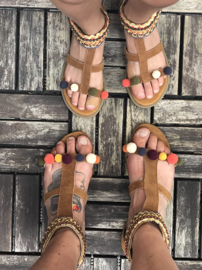 Slip af med hård hud på fødderne