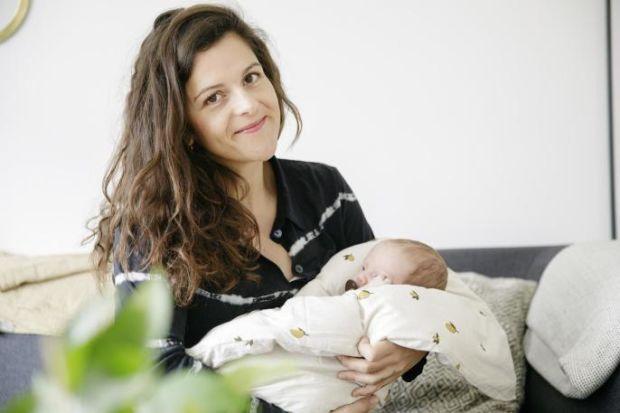 Petra får en baby