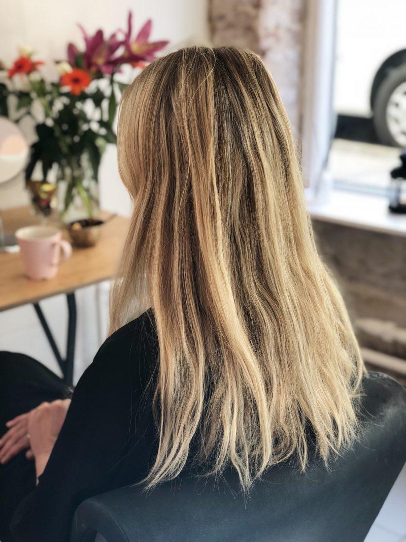 Nyt hår - er jeg blond nu?