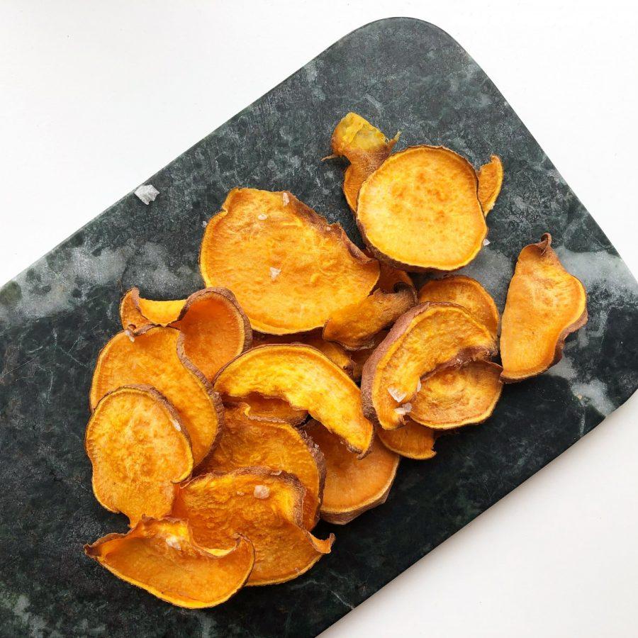 Sunde Sense snacks - Søde kartoffelchips