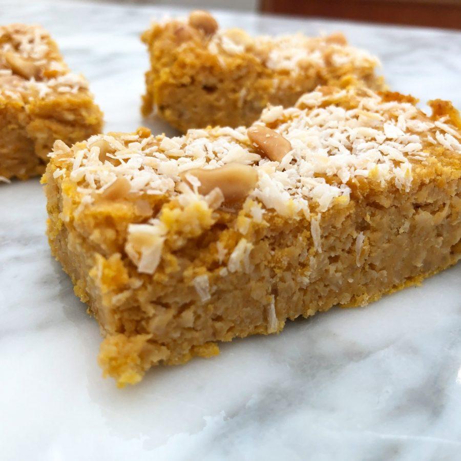 Sense peanutbutterkage uden mel og sukker