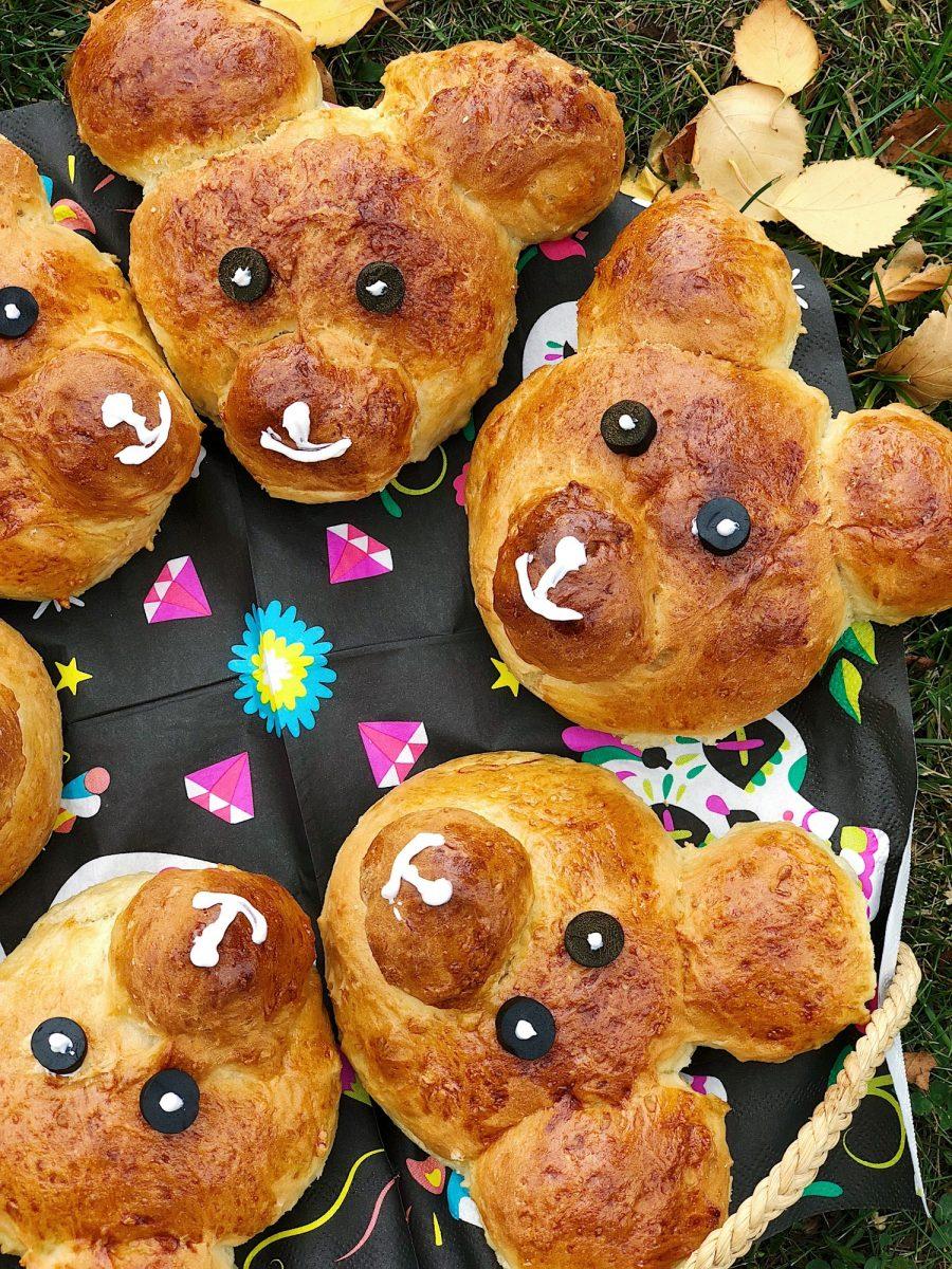 Gluten- og sukkerfri bamseboller til børnefødselsdagen