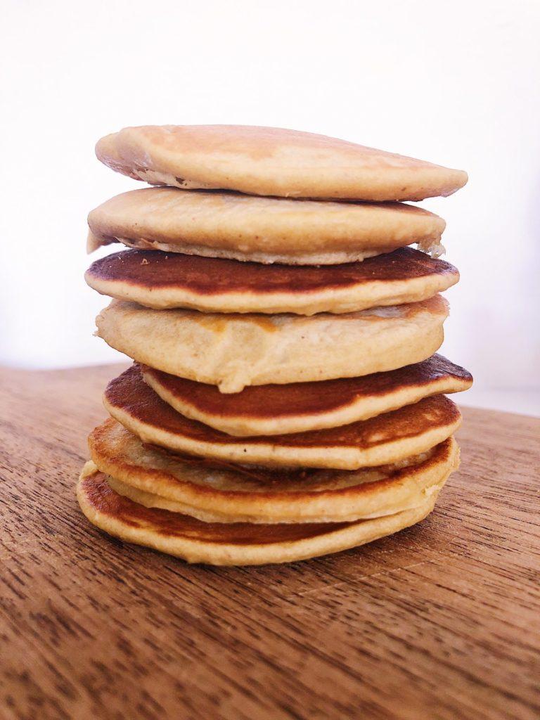 Glutenfri bananpandekager uden sukker