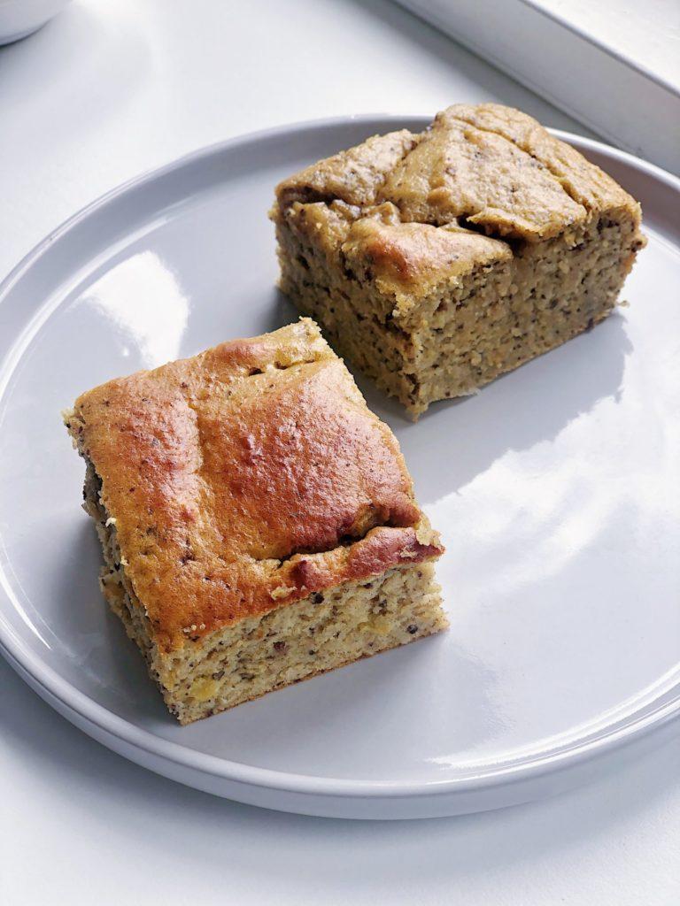 Kikærtekage af 3 ingredienser (glutenfri og sukkerfri)