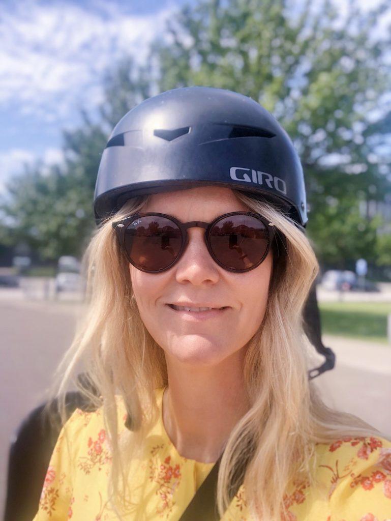 Det er ligemeget at du bruger cykelhjem, hvis...