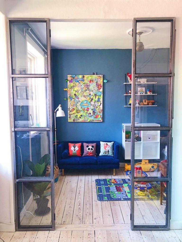 Børneværelser på få kvadratmeter - Sofus og Umas værelser