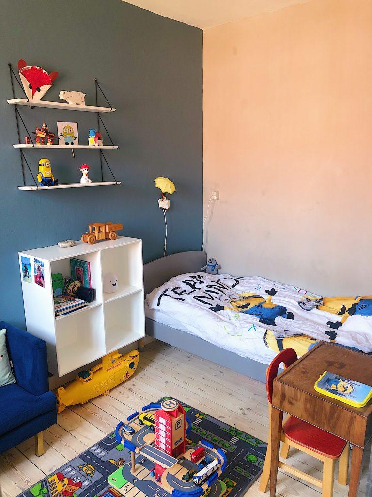Børneværelse drengeværelse på få kvadratmeter - lille børneværelse