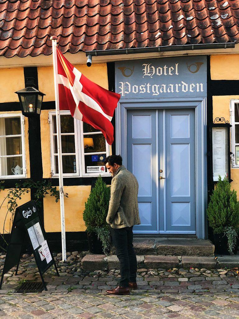 Hotel Postgaarden i Mariager