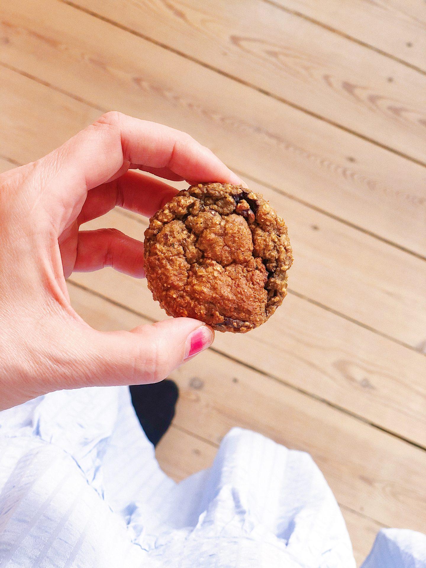 glutenfri blåbærmuffins med squash