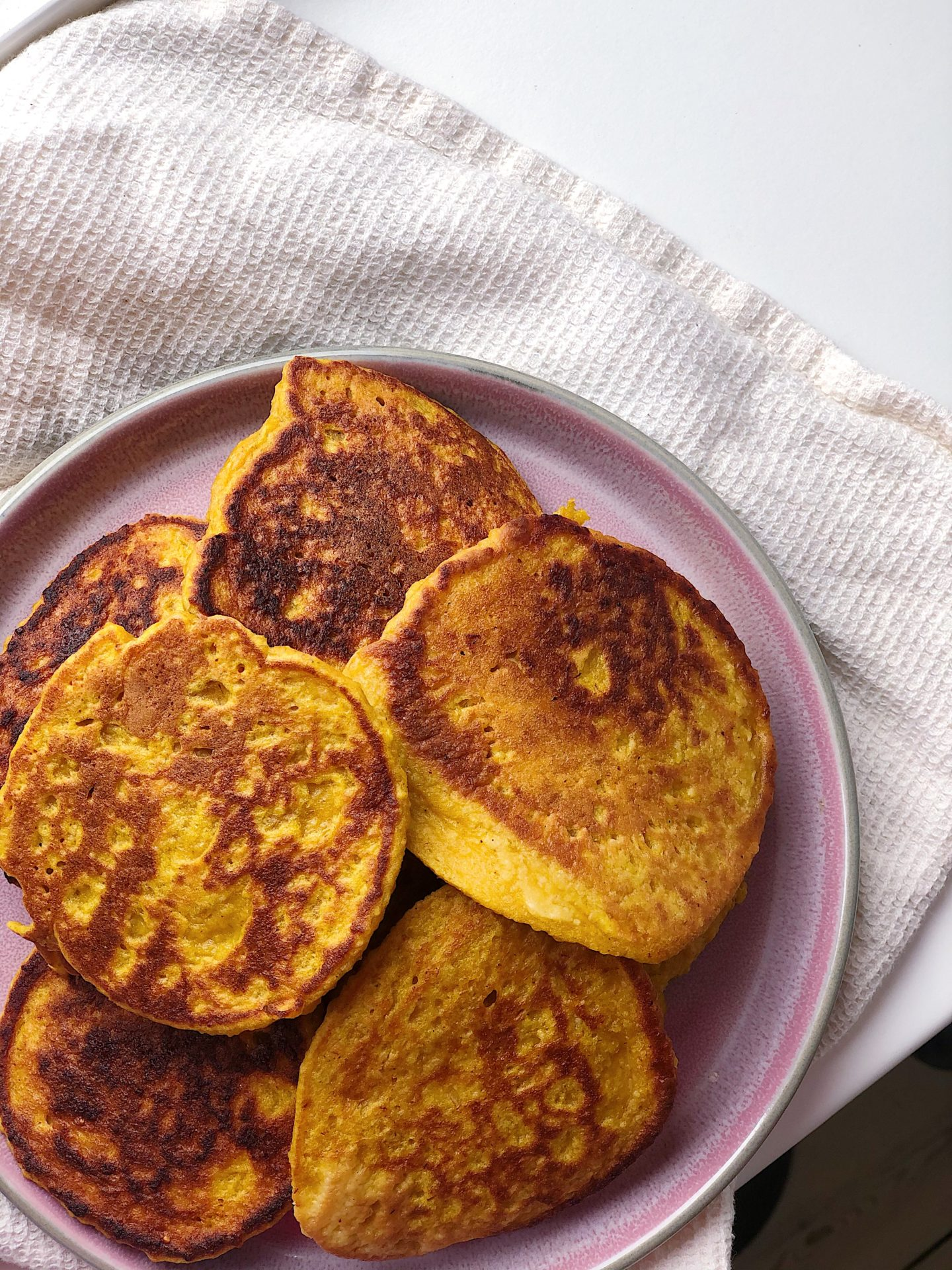 glutenfri græskarpandekager