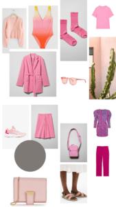 lyserødt tøj