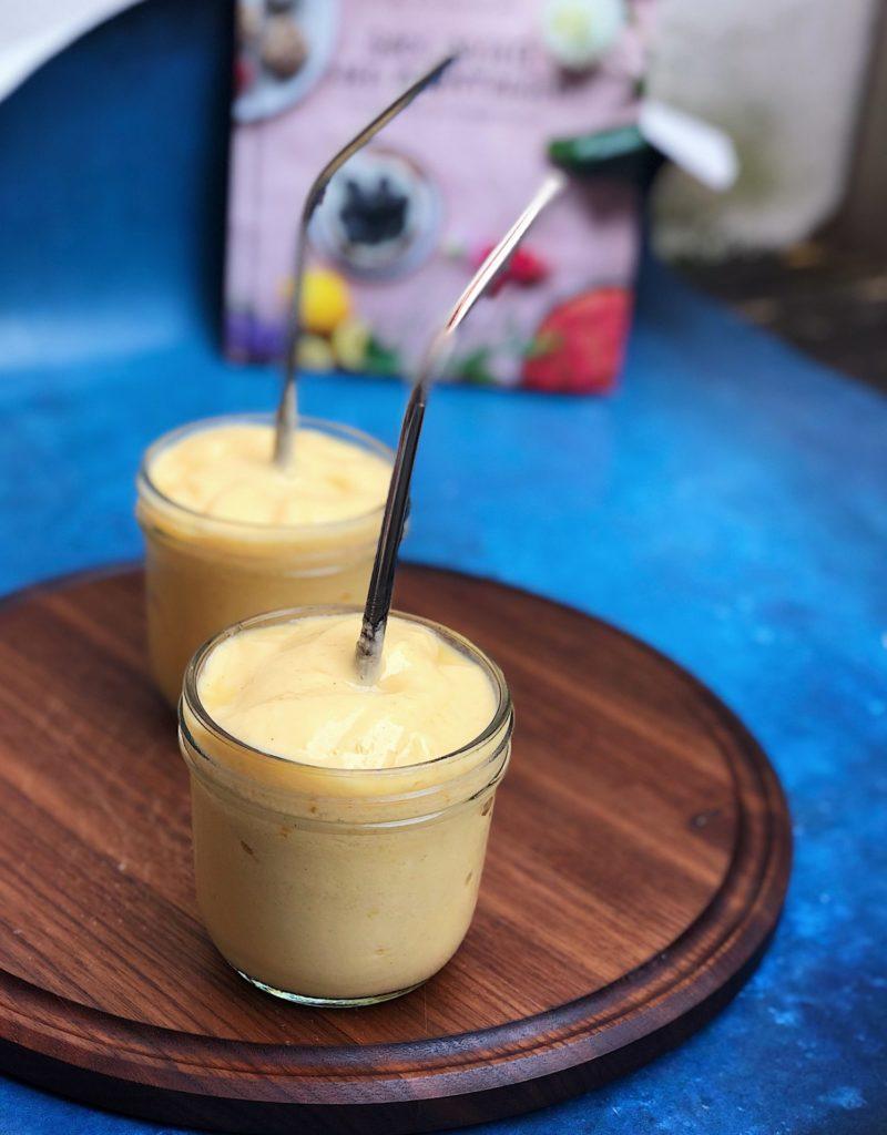 mango lassi - indisk smoothie