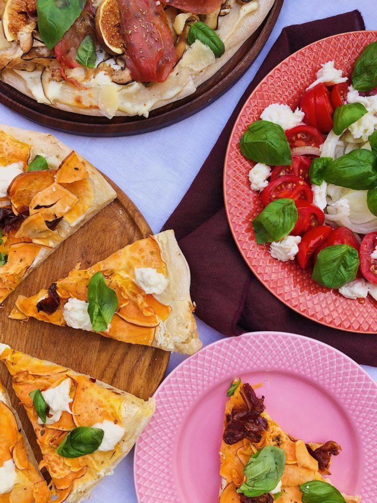 glutenfri pizza bianco