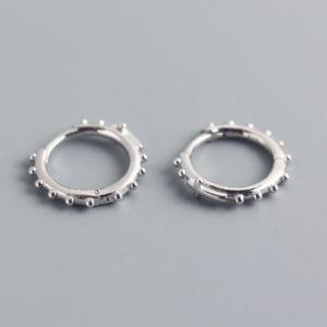 Sterling sølv kreoler