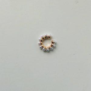 earcuff med perler